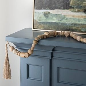 Threshold Accents - Threshold Decorative Wooden Bead Garland